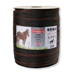 Ruban pour clôture électrique 40mm -14 inox-200m Chapron