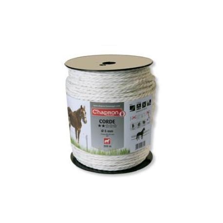 Corde de clôture 4 inox Ø5 -200m- Chapron