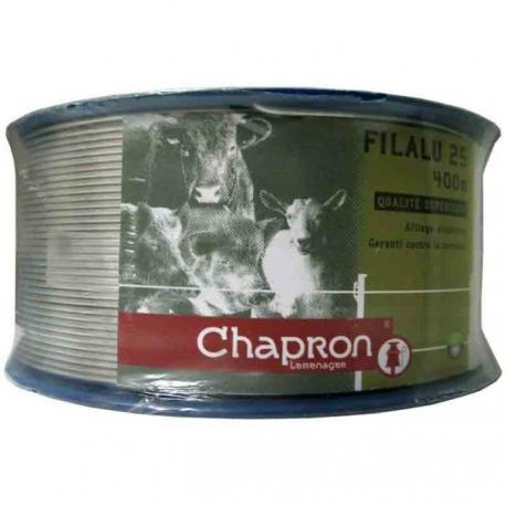 Fil d'aluminium Ø 2,5 mm -400m- Chapron