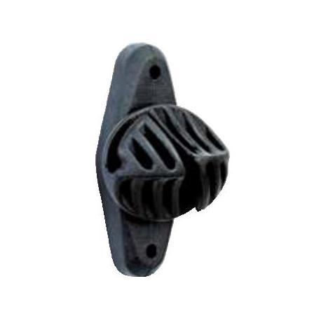 Isolateur ELPER NOIR - Sachet de 25 pièces