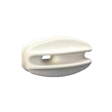 Isolateur MAV Blanc - Pour angle - Sachet de 10 pièces