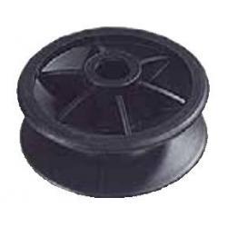 Isolateur L 6102 - Poulie pour angle - Coque de 50 avec pointe