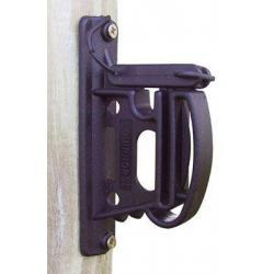 Isolateur R 4000 - Pour ruban 40mm et cordon -Noir- Coque de 25