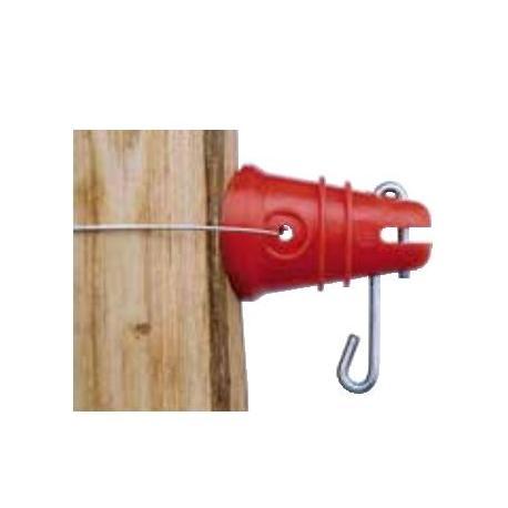 Isolateur RBL - A goupille, à fixer avec fil de fer - Sachet de 25