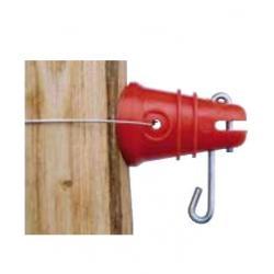 Isolateur RBL - A goupille, à fixer avec fil de fer - Coque de 100 pièces