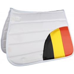 "Tapis de selle ""FLAGS CORNER"" by HKM"