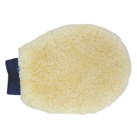 Gant de pansage en mouton HKM