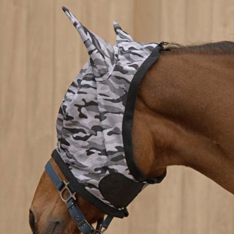 """Masque anti-mouches """"EQUI_SKY CAMOUFLAGE"""" Lamicell"""