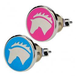 """Boucles d'oreilles """"HORSE HEAD"""""""