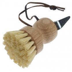 Cure-pieds boule avec brosse