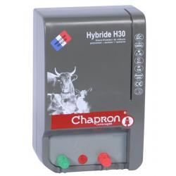 Électrificateur de clôture HYBRIDE 30 -Secteur/Accu- 11 000V/2,3J - Chapron