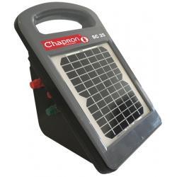 Électrificateur de clôture SC 25 -Solaire intégré- 6 200V/0,25J - Chapron