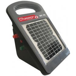 Électrificateur de clôture SC 70 -Solaire intégré- 10 000V/0,7J - Chapron